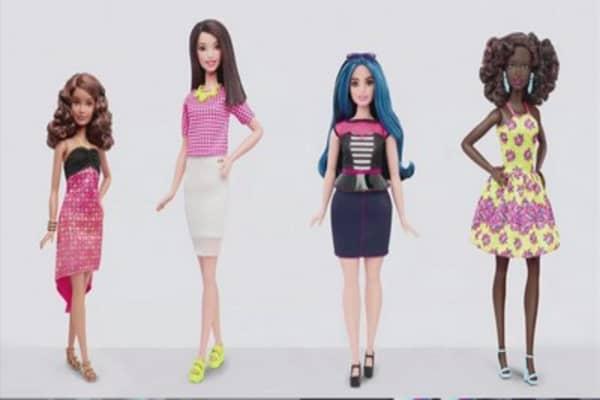 Barbie's new body