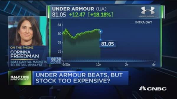 'Bearish concerns' on Under Armour stock: Analyst