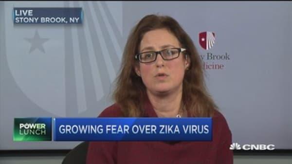 Growing fears of spreading Zika virus