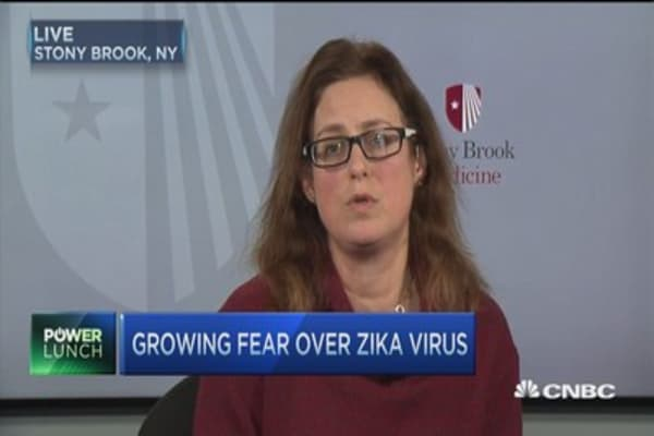Growing fears of spreading Zika virus