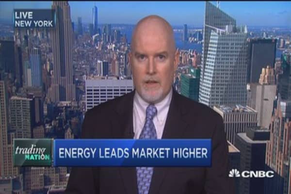 Trading Nation: Energy leads market higher