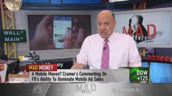 Cramer: Listen up Marc Zuckerberg
