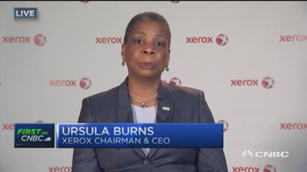 Xerox to spit business: CEO