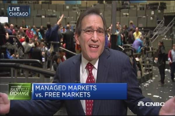 Managed markets vs. free markets