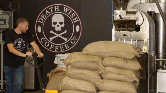 Former accountant Michael Brown created Death Wish Coffee known as the World's strongest coffee