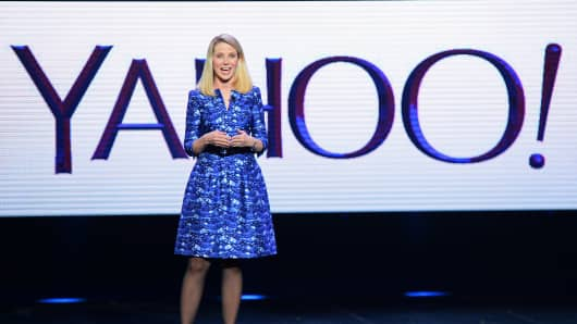 Yahoo! President and CEO Marissa Mayer