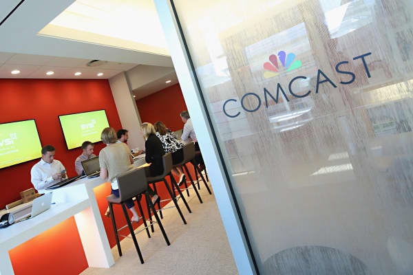 Comcast office in Philadelphia