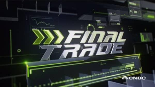 Final trade: EEM, CME, XLP & TLT