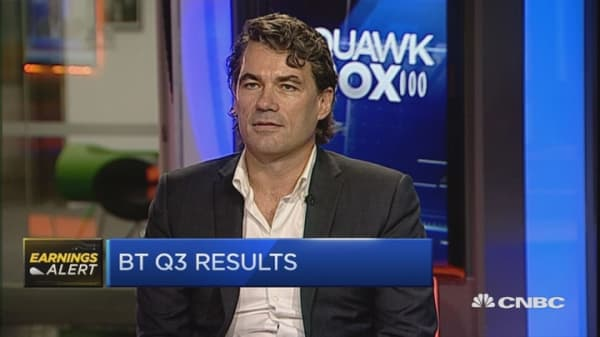 The business is performing very well: BT CEO