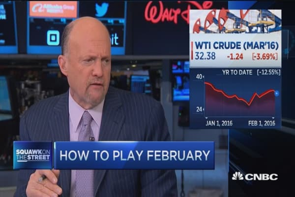 Cramer: Watch oil today