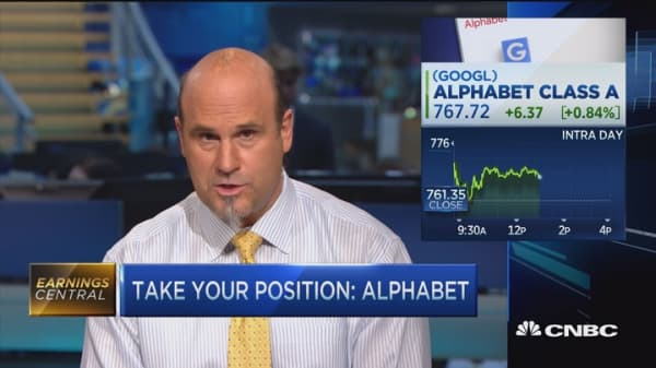 Alphabet to report earnings