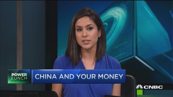 Hedge funds short yuan