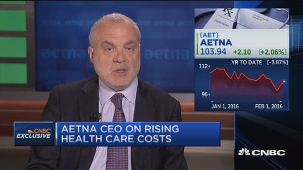 Aetna CEO: THIS is behind downgraded 2016 guidance