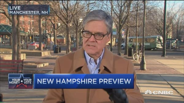 Race for White House heads to NH