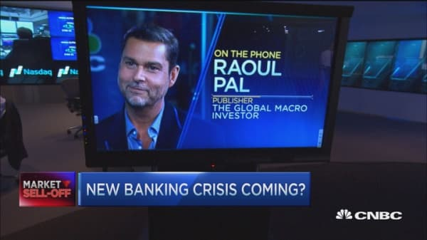 European banks should be a worry for investors: Raoul Pal