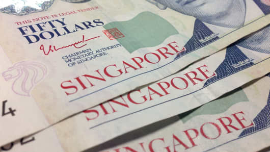 Singapore Revised 2Q GDP +2.2% on-Quarter, Annualized