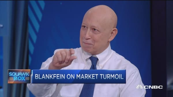 GS CEO: Interesting time in the market