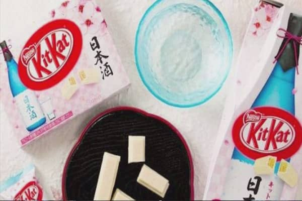 Sake-flavored KitKat released in Japan