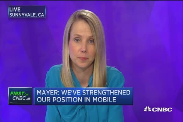 Yahoo CEO: Coming from position of strength