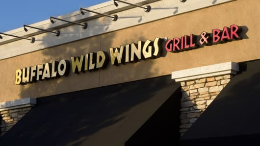 A file photo of a Buffalo Wild Wings location.