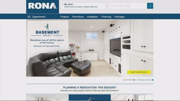 Lowe's to buy Rona for $2.3B to enter Quebec