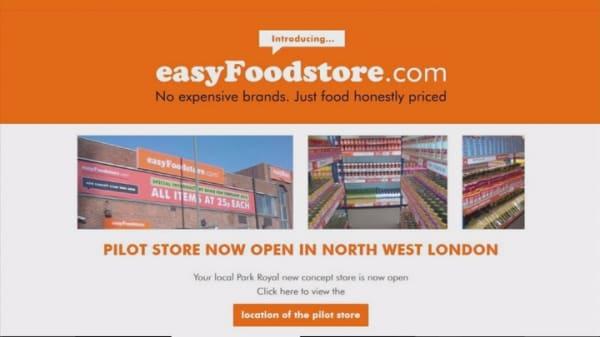 EasyJet founder opens 36-cent easyFoodstore