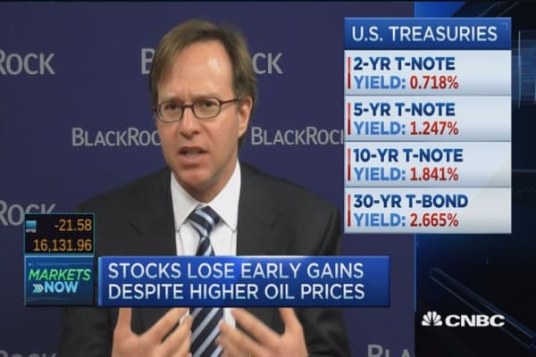 Stocks fall after weak ISM data