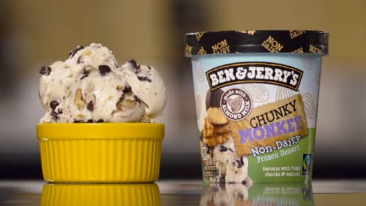 Ben & Jerry's is coming out with a line of non-dairy vegan ice cream.