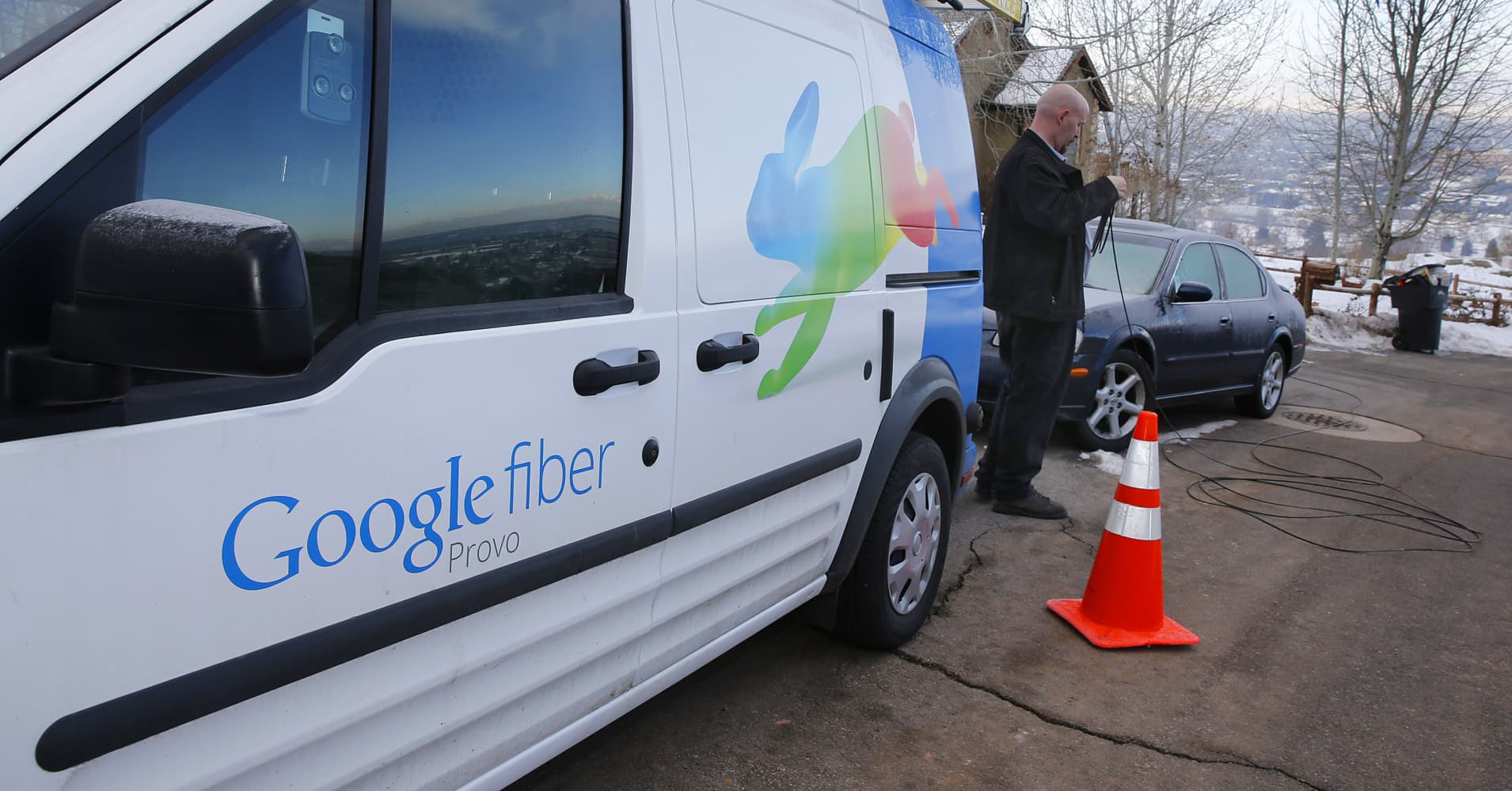 Google Fiber's Internet Service is Leaving Louisville After Ripping up Roads, Leaving Cables Exposed