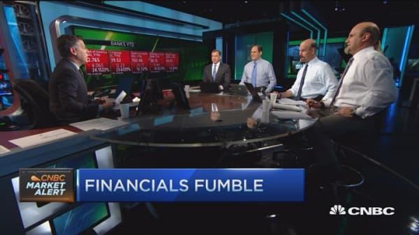 Traders still bullish financials?