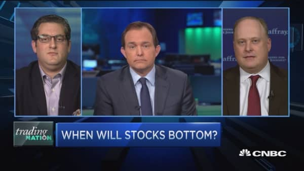 How stocks will find a bottom