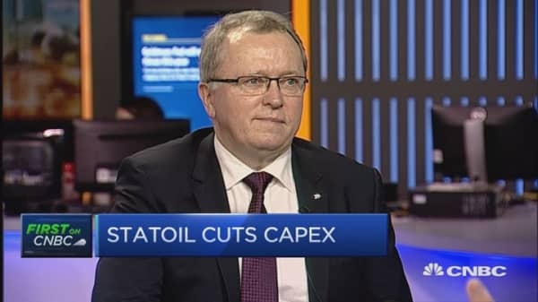 The government is a professional holder: Statoil CEO