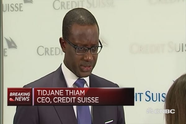 We believe in Asia: Credit Suisse CEO
