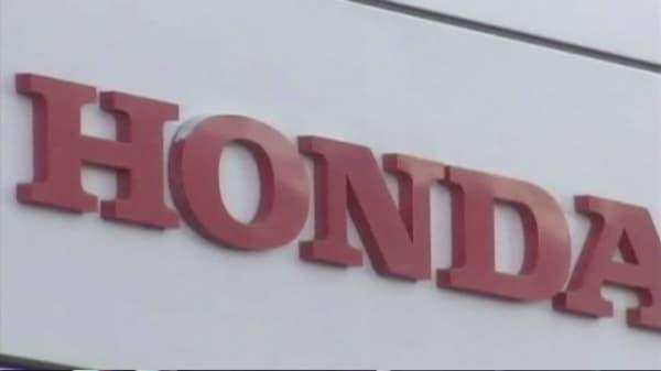 Honda recalls 1.7M cars for Takata air bags