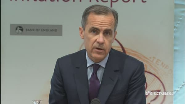 Carney: The challenges facing the UK