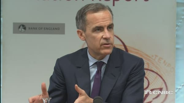Confidence robust despite risk of Brexit: BOE