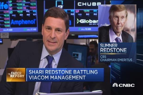 Faber Report: Shari Redstone battling Viacom