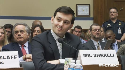 Martin Shkreli takes on Congress