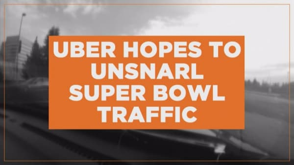 Welcome to the Uber Super Bowl