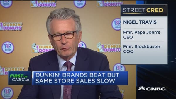 Dunkin' CEO: The key to taking on McDonald's