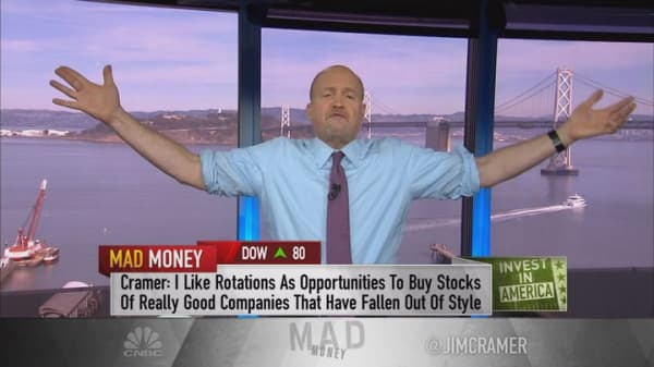 Cramer explains the sudden flock to commodities