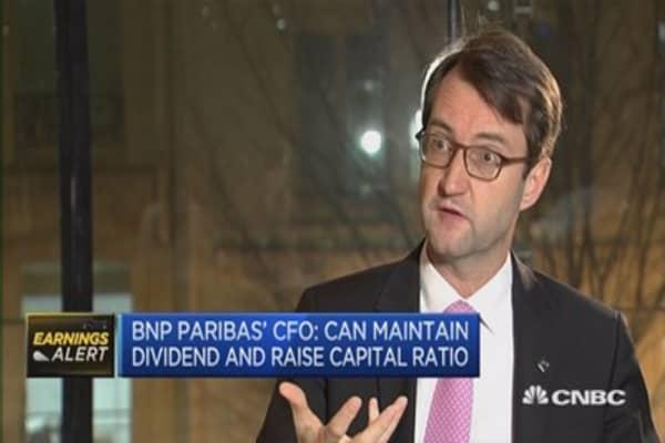 BNP Paribas' results miss estimates