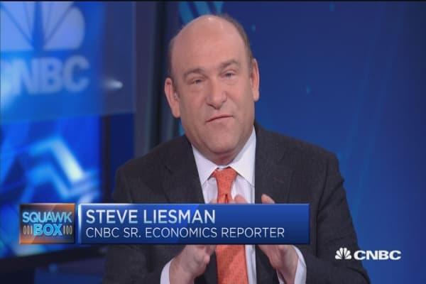 Deciphering jobs signal: Liesman