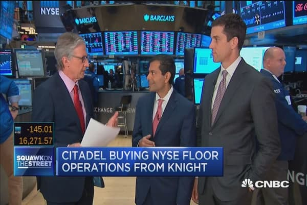 Citadel joins NYSE floor