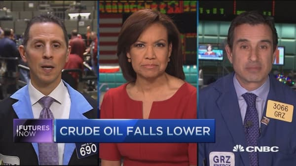 Futures Now: Crude lower after jobs
