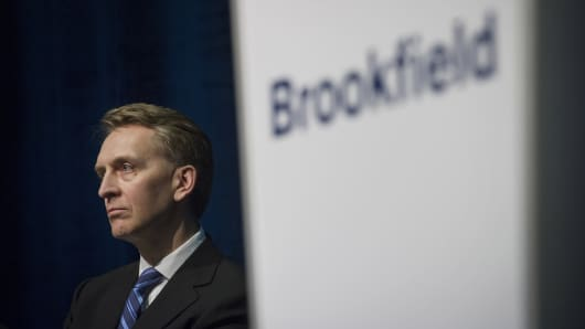 Bruce Flatt, chief executive officer of Brookfield Asset Management Inc.