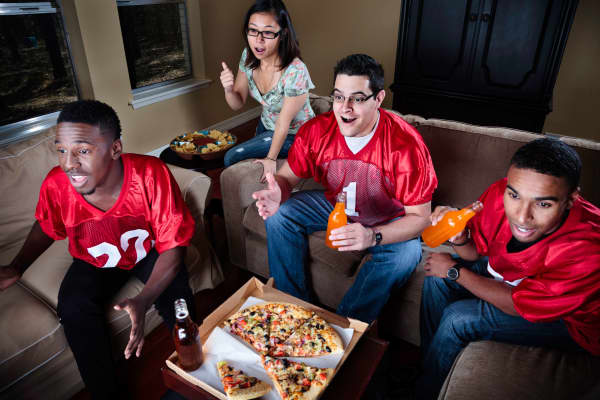 Football party Super Bowl