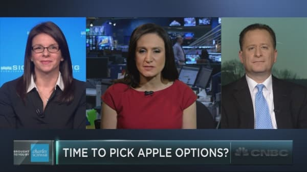 Goldman's Apple options play