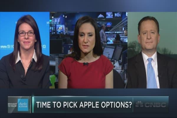 Goldman's Apple options play