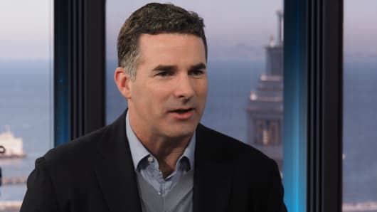 Kevin Plank, CEO of Under Armour.